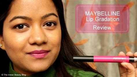 Maybelline Gradation Lip the indian indian makeup indian