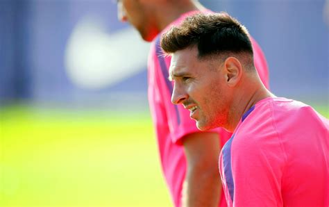 Model Rambut Messi by Muhammad Areev Aneh Model Baru Potongan Rambut Lionel Messi