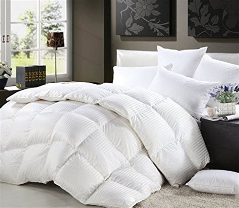 100 goose down comforter 1200 thread count king california king size siberian