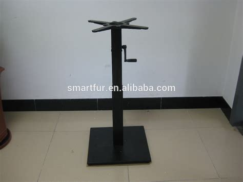 metal table base for sale wholesale trumpet antique cast iron industrial metal table