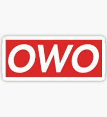 owo stickers redbubble