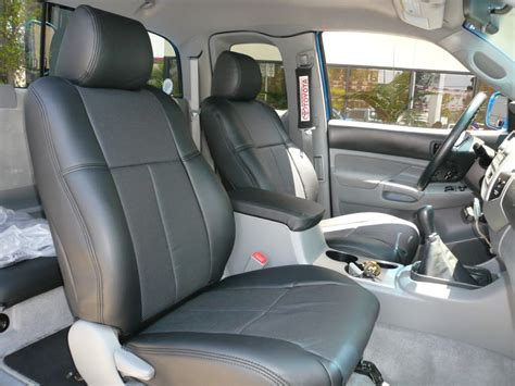 Tacoma Leather Interior by Clazzio Covers 2005 2011 Toyota Tacoma Cab