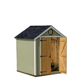 6 X 8 Wood Storage Shed by Shop Heartland 6 X 6 X 8 Wood Storage Shed At Lowes