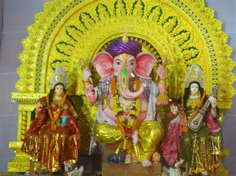 the beauty of the puja beauty of ganesh puja celebrations for 11 days in jatni