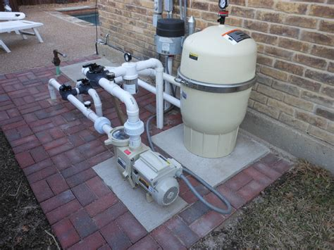 Pool Filter Plumbing by Installing Variable Speed Pool Filter And Plumbing 2