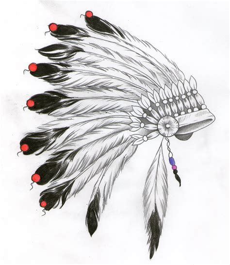 native american headdress tattoo indian headdress design tattoos headdress