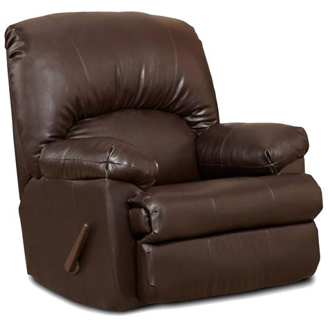 Brown Leather Rocker Recliner Chair Charles Rocker Recliner Chair Brown Leather Dcg Stores