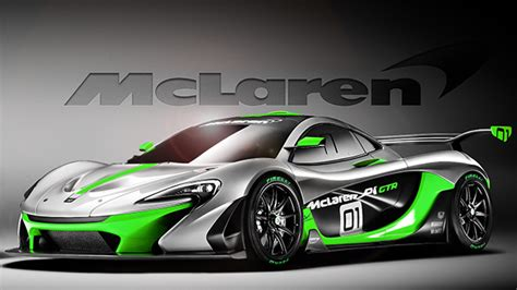 Cool Mclaren P1 GTR HD Wallpaper