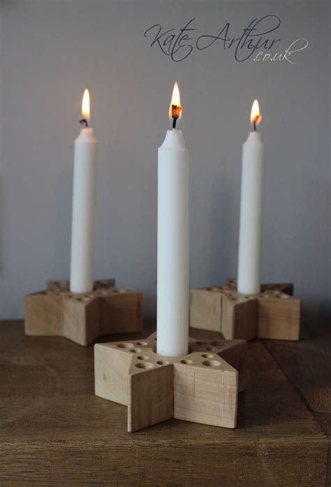 christmas candle stick holders