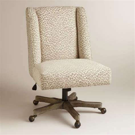 stylish and comfortable office chairs you must see - Leopard Office Chair
