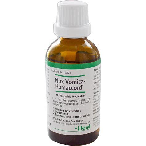 nux vomica for dogs heel bhi nux vomica homaccord drops 1 6 fl oz 50