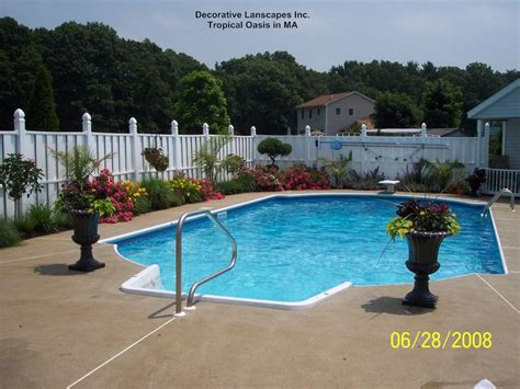 Landscaping Ideas For Pool Area | landscape designs for pool areas izvipi com