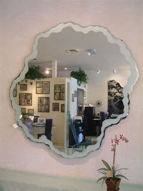 fancy palm border decorative mirror with etched carved 1000 images about mirrors on pinterest shape etched