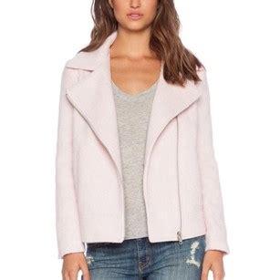 light pink fuzzy jacket bb dakota light pink fuzzy motorcycle jacket size 6 s