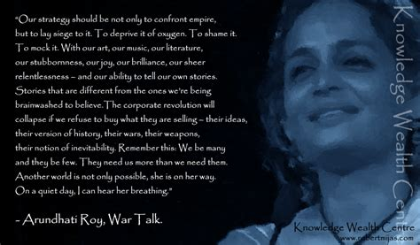Film Roy Quotes | another world arundhati roy quotes quotesgram