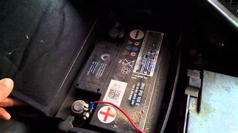 skoda octavia battery where is the battery in a skoda octavia 2008 2012
