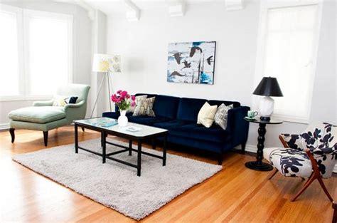 A Velvet Sofa ? The Starting Point For My ?New? Living Room