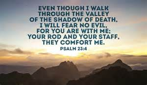 psalm 23 4 ecard free facebook ecards greeting cards online