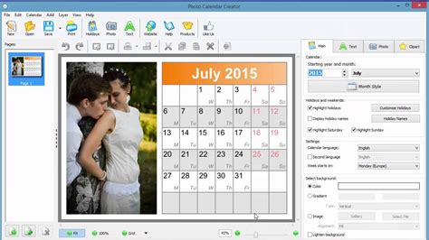 make a calendar with your own photos how to make your own photo calendar for 2015