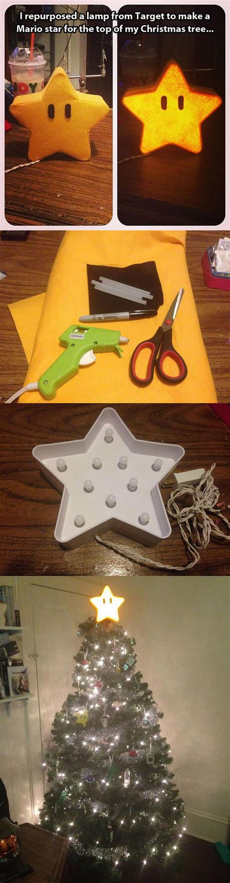 mario tree topper awesome diy tree topper ideas tutorials hative