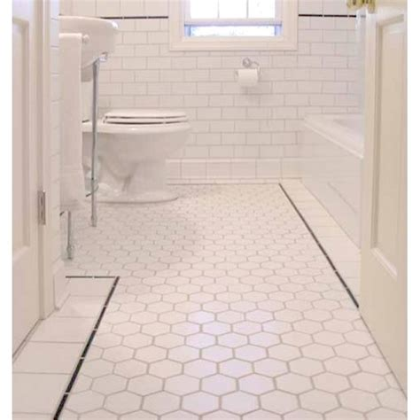 washroom tiles hexagon porcelain tile white matte porcelain non slip tile