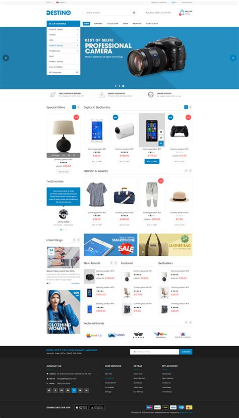 advanced layout wordpress destino advanced woocommerce wordpress theme with mobile