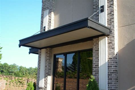 Building Awnings by More Architectural Commercial Metalworking