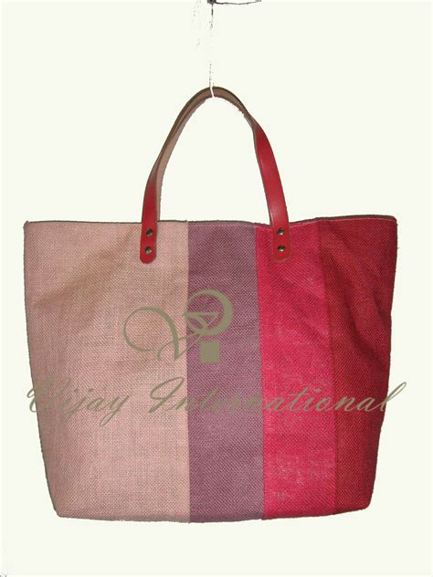 Fadhion Bag fashion bags vijay international reusable jute bags and