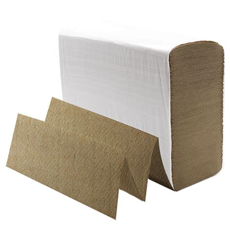 Multi Fold Paper Towels - karat multifold paper towels kraft popping bobas