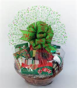Holiday Basket Christmas Holiday Delights Gift Basket
