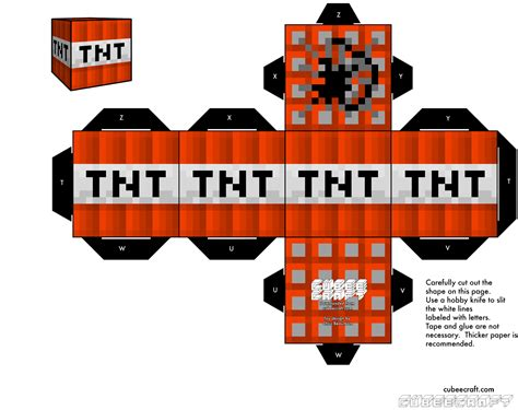 Minecraft Tnt Papercraft - minecraft free printable boxes oh my for
