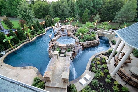How To Build A Lazy River In Your Backyard by Thought About A Lazy River Pool Builders Rock Tx Pool Remodeling Renovations
