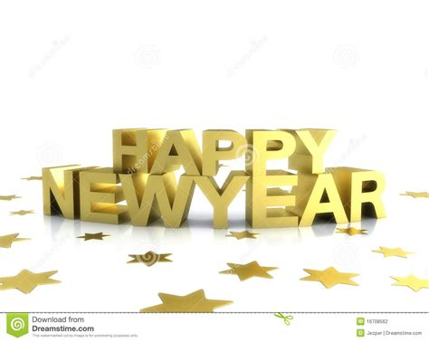 new year gold images happy newyear gold illustration on white stock