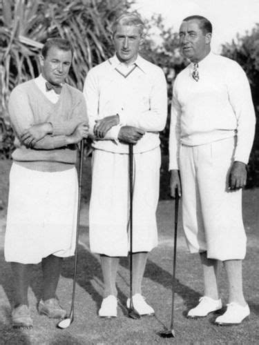 walter hagen golf swing gene sarazen walter hagen tommy armour great golf photo