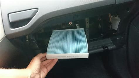Air Filter Replacement Elevo Yaris Vios Altis 2010 toyota auris pollenfilter innenraumfilter wechseln tauschen cabin air dust pollen filter replace