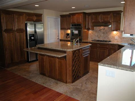 remodeled kitchens with islands residential remodels