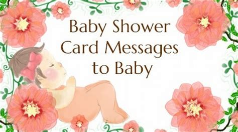 Baby Shower Card Sayings by Baby Message To Parents Images