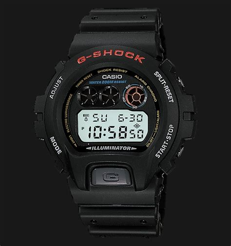 Casio Gshock Dw 6900 casio g shock dw 6900 1vdr standard digital resin band