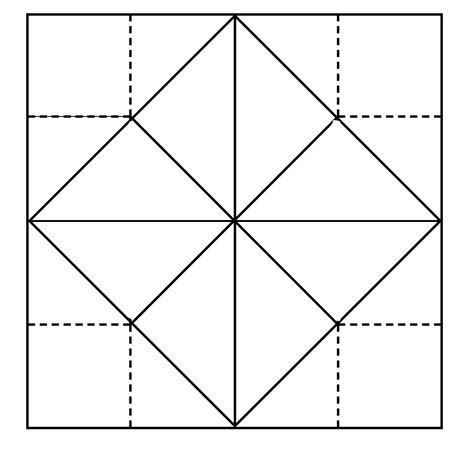 Origami Fortune Teller History - blank origami fortune teller template the rock