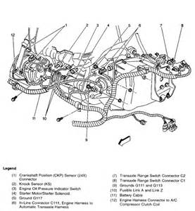 camshaft position sensor wire harness camshaft position sensor connector nissan wiring diagrams