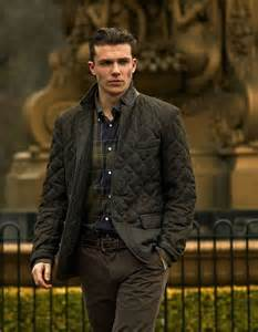 me some barbour menswear fall style quilted