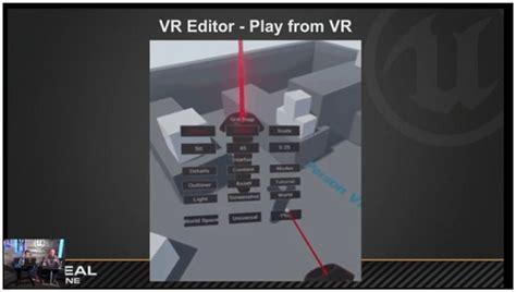 Epic Games Reveals Vr Landscape Editor For Unreal Engine 4 14 Vrfocus Ue4 Vr Template