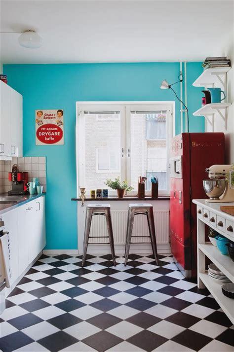 1950s blue and paint on pinterest blog de decora 231 227 o arquitrecos cozinhas turquesa vermelho