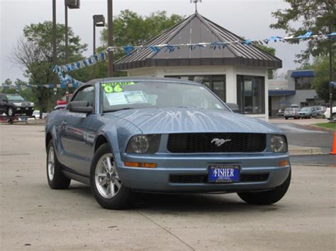2006 ford mustang maintenance schedule used car spotlight 2006 ford mustang convertible