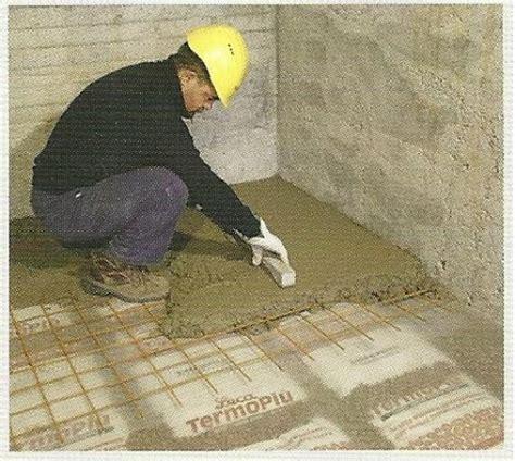 isolamento termico pavimento piano terra argilla espansa in sacchi per vespai ad isolamento termico