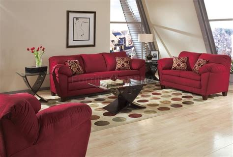 living rooms with bugundy sofas burgundy micro suede contemporary living room sofa w options