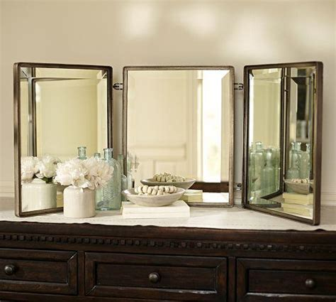 triptych mirror pottery barn