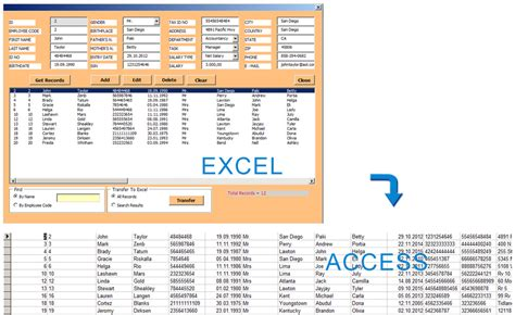 Access Database Management With Excel Userform Hints And Tips About Technology Computer And Life Excel Data Management Template