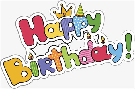 free happy birthday word design happy birthday word poster promotional material happy