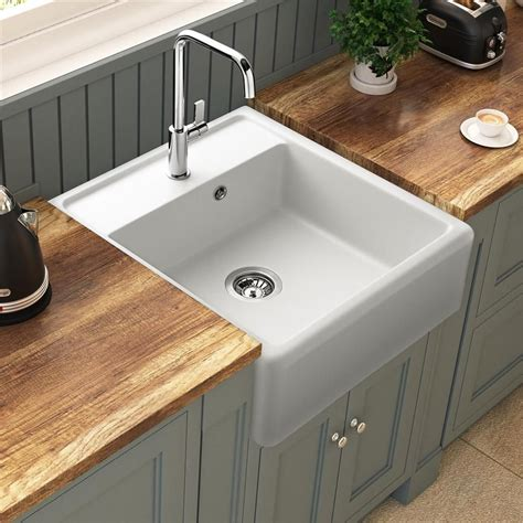 Evier Retro Cuisine by 201 Vier 224 Poser Granit Blanc K 252 Mbad Kiwi 1 Bac 595x630